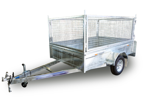 7x4 Cage Tipper Trailer